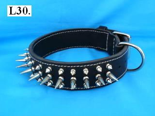 "2"" spiked dog collar"