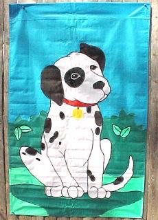Dalmatian Puppy Flag