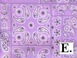 Lavender Bandana
