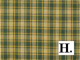 Yellow & Green Homespun Plaid