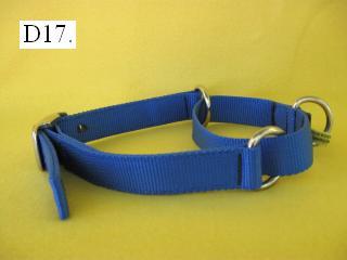 "1"" wide nylon martingale collar"