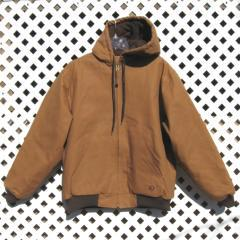 Men's Hooded Coat With Embroidery