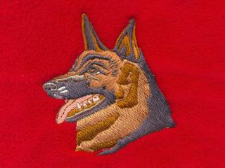 German Shepherd Head 2
