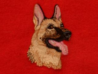 German Shepherd Head 1