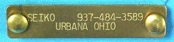 """5/8"""" X 2.75"""" brass pet id tags"""