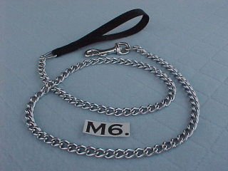 medium weight 3mm chain lead