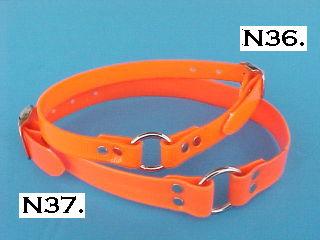Orange BiPlastic Collars