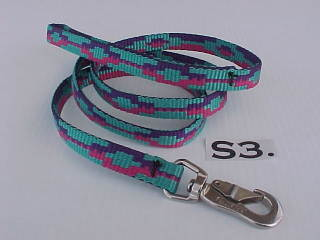 "printed 5/8"" x 4 ft. nylon dog leash"