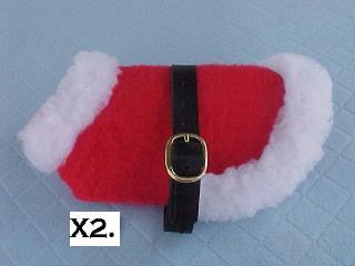 Santa Dog Coat
